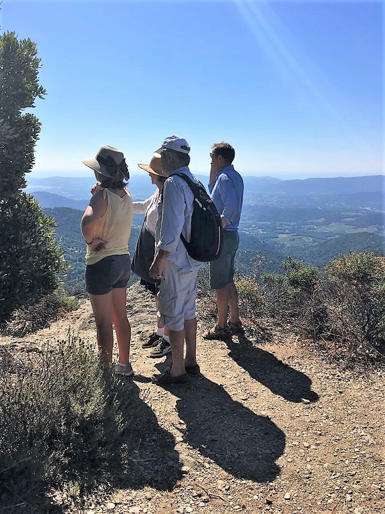 Hiking trails around La Garde Freinet