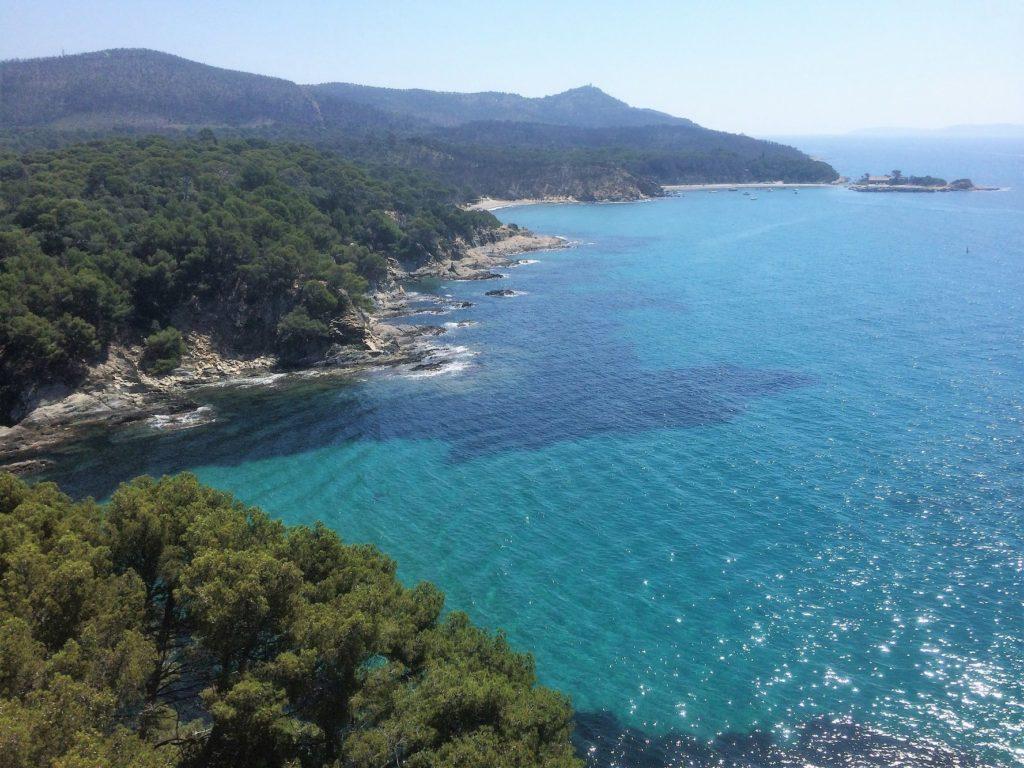 La ligne côtière, Provence, Côte Azur