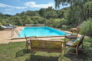 Blue and green Villa Fontane