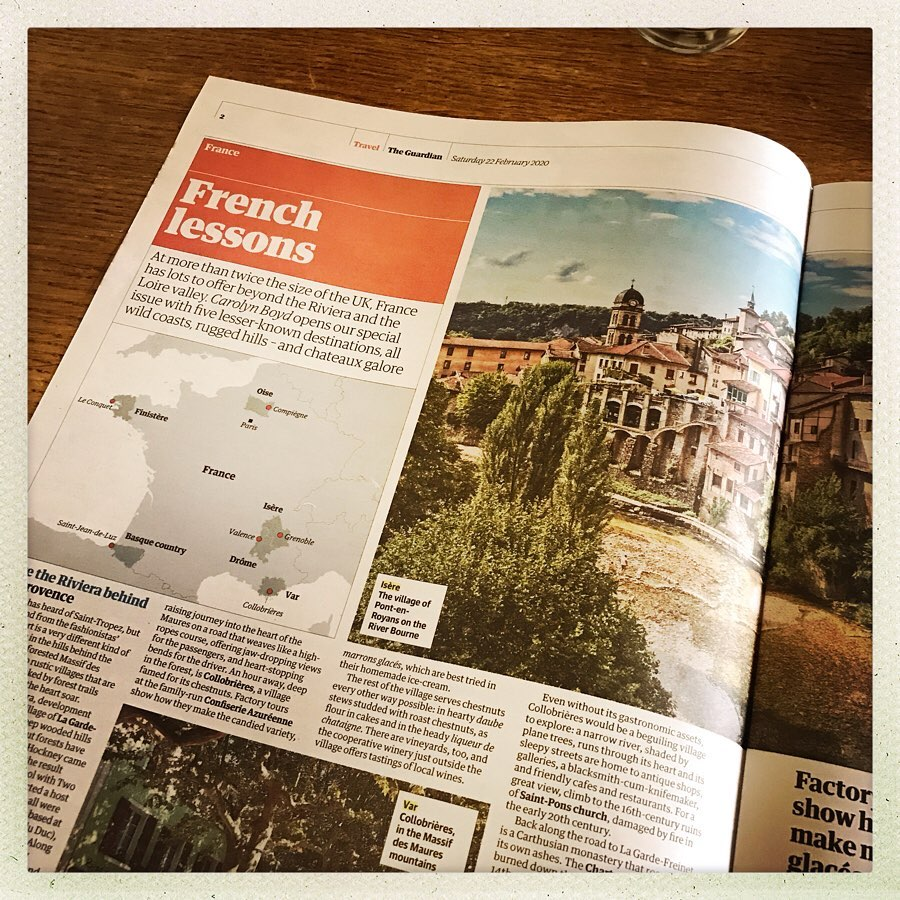 Recommended in The Guardian Travel Guide 2020